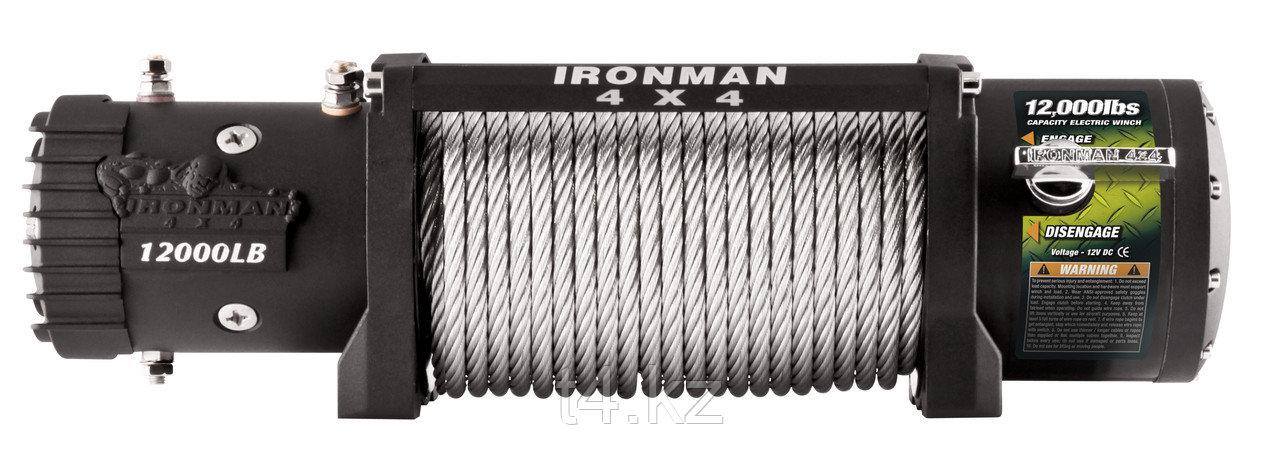 Лебёдка с металлическим тросом 5455 кг / 12000 lbs - IRONMAN 4X4 Monster Winch