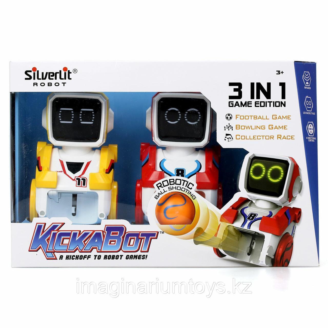 Роботы футболисты Silverlit Кикабот двойной набор