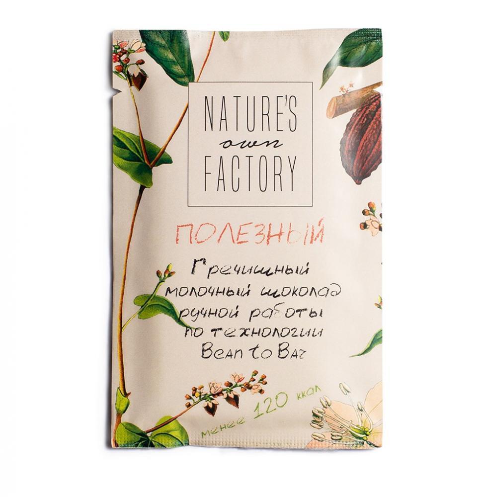 Nature's own factory Молочный шоколад с гречишным чаем - фото 1