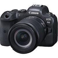 Фотоаппарат Canon EOS R6 kit RF 24-105mm f4-7.1 STM, фото 1