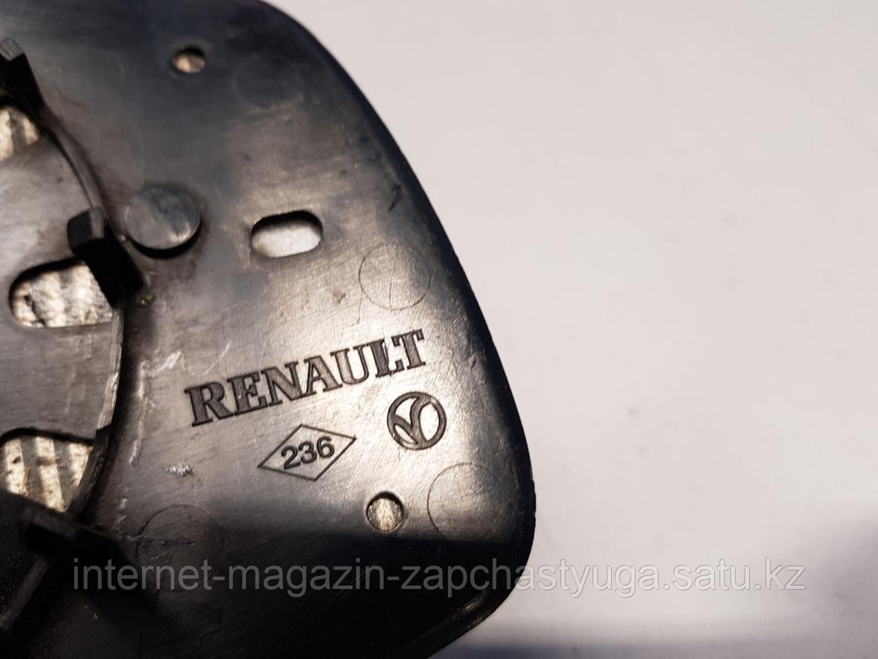 963662807R Зеркальный элемент левый для Renault Megane 3 2009-2016 Б/У - фото 2