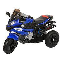 Детский электро-мотоцикл PITUSO HLX2018/2, 12V/7Ah*1,колеса надув.,108х46х76 см, Blue/ Синий (музыка,свет), фото 1