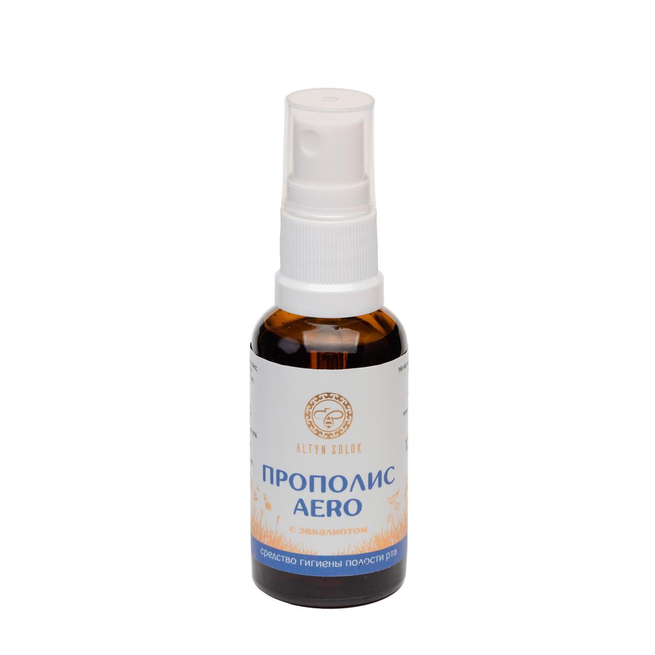 ПРОПОЛИС AERO (средство гигиены полости рта с эвкалиптом,спрей, 30 мл)