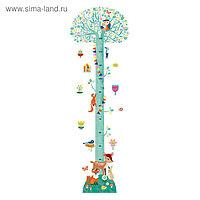 Ростомер с наклейками «Цветущее дерево»