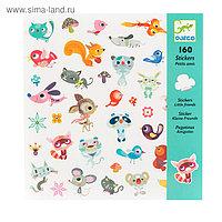 Набор наклеек «Маленькие друзья», 160 шт