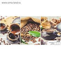 """Фотообои К-160 """"Кофе"""" (3 листа), 210*100 см"""