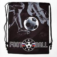 Мешок для обуви с веревочными ручками 'Football', 30 х 38 см