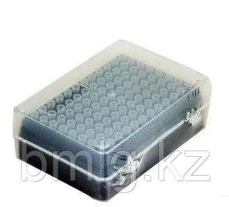 Наконечники с фильтром стерильные Axygen, 10 мкл (0,5-10 мкл),  96 шт./штатив, Кат № TF-300-R-S