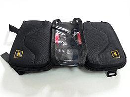 Плотная сумка для велосипеда на раму с держателем телефона. Kaspi RED. Рассрочка.