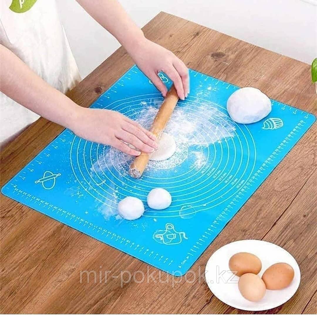 Большой силиконовый коврик для выпечки размером 64*45 см