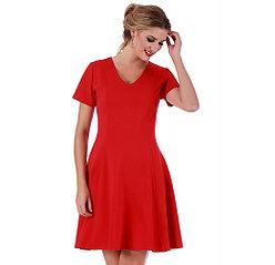 LaMonir Instant Figure Женское короткое платье с расклешенной юбкой 2000000393247