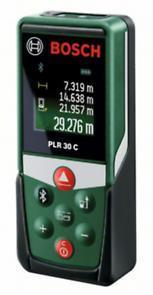 """Лазерный дальномер-рулетка """"Bosch"""" PLR 30 C"""