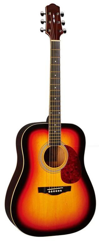 Акустическая гитара с вырезом Naranda DG120VS