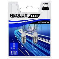 Лампа T4W (0,5W LED Двойной блистер В компл. 2шт цена за комплект)