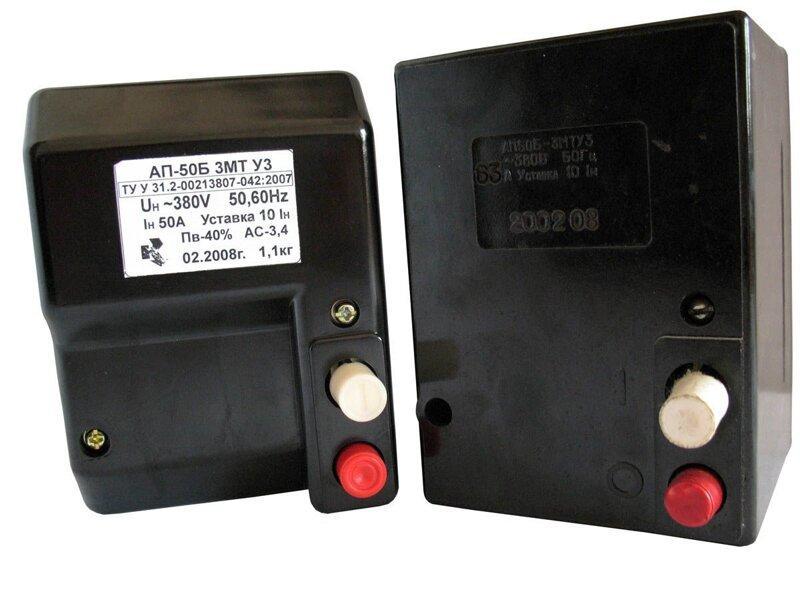 Выключатель автоматический АП50