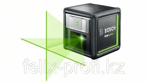 """Лазерный нивелир """"Bosch"""" Quigo Green + tripod"""