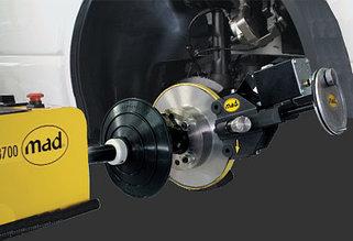 Стенды проточки тормозных дисков