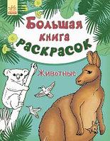 Большая книга раскрасок: Животные