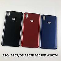 Samsung Galaxy A10s (SM-A107F) Задняя крышка (Blacк) Оригинал
