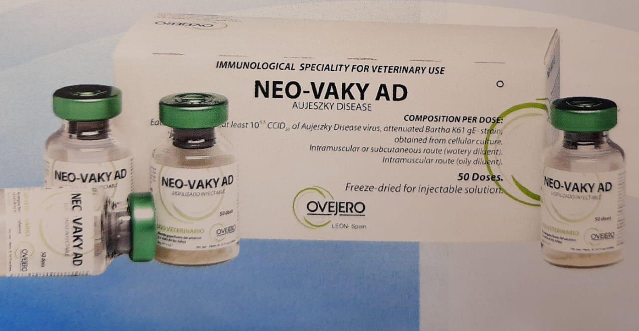 Вакцина для свиней Нео-Ваки Ад ( NEO-VAKY AD)