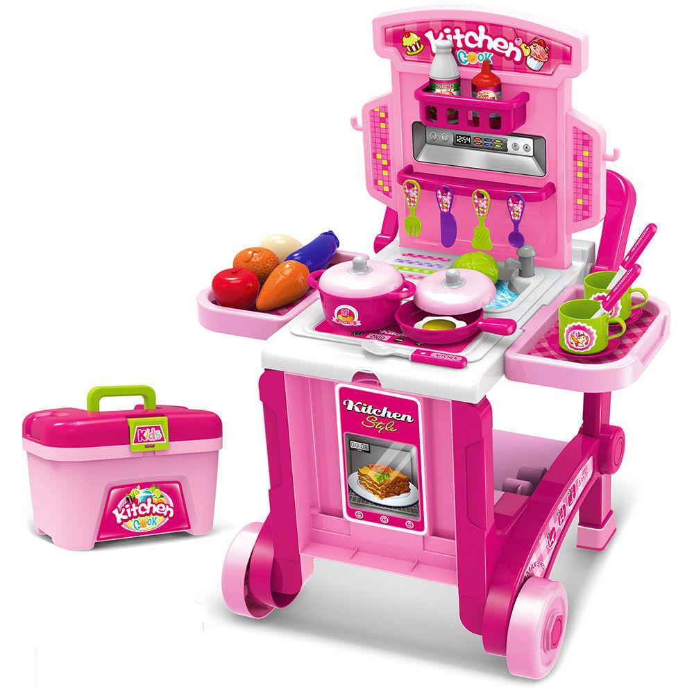 Кухня игровая Little Chef (набор 3 в 1)