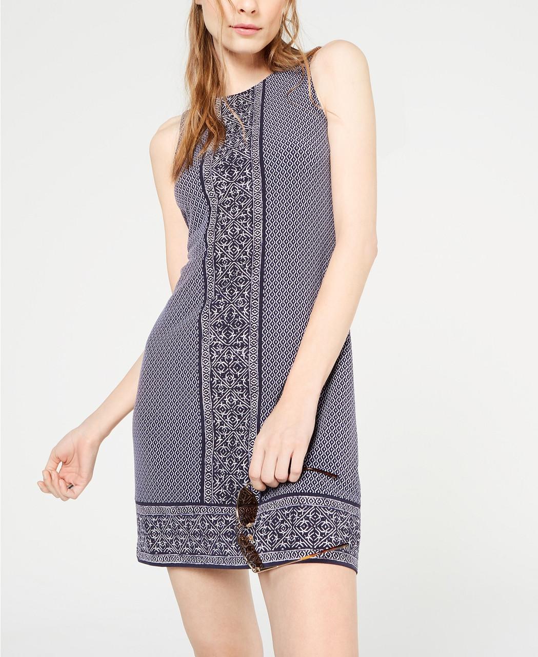 Michael Kors Женское платье короткое с принтом 2000000392974