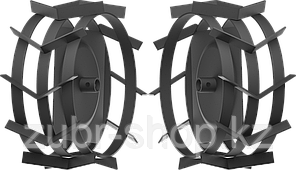 ЗУБР ГР-425 грунтозацепы для мотоблоков, 425х200 мм, набор 2 шт (ГР-425)