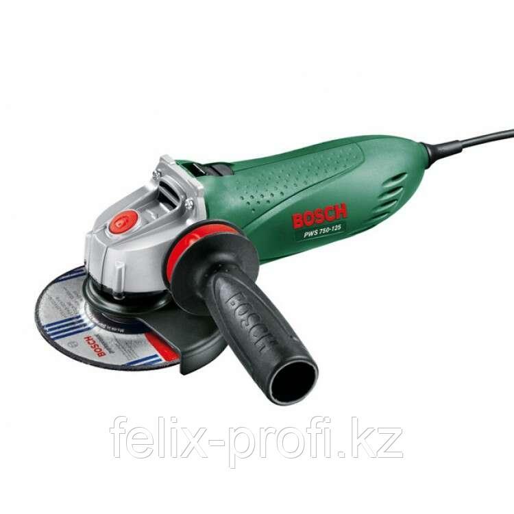 """Углошлифовальная машина """"Bosch""""  PWS 750-125"""