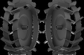 ЗУБР ГР-460 грунтозацепы для мотоблоков, 460х160 мм, набор 2 шт (ГР-460)
