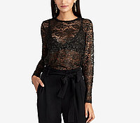Rachel Rachel Roy Женская прозрачная кружевная блуза 2000000392103