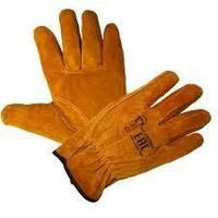 Перчатки драйвер цельноспилковые зимние на сентипоне