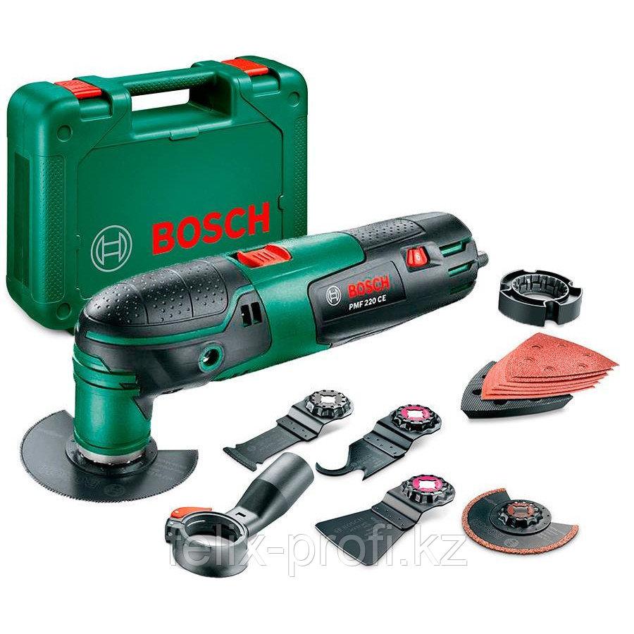 """Аккумуляторный универсальный многофункциональный инструмент (мультидвигатель) """"Bosch"""" PMF 220 CE"""