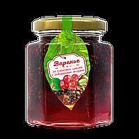 Варенье из сосновой шишки с сибирскими ягодами