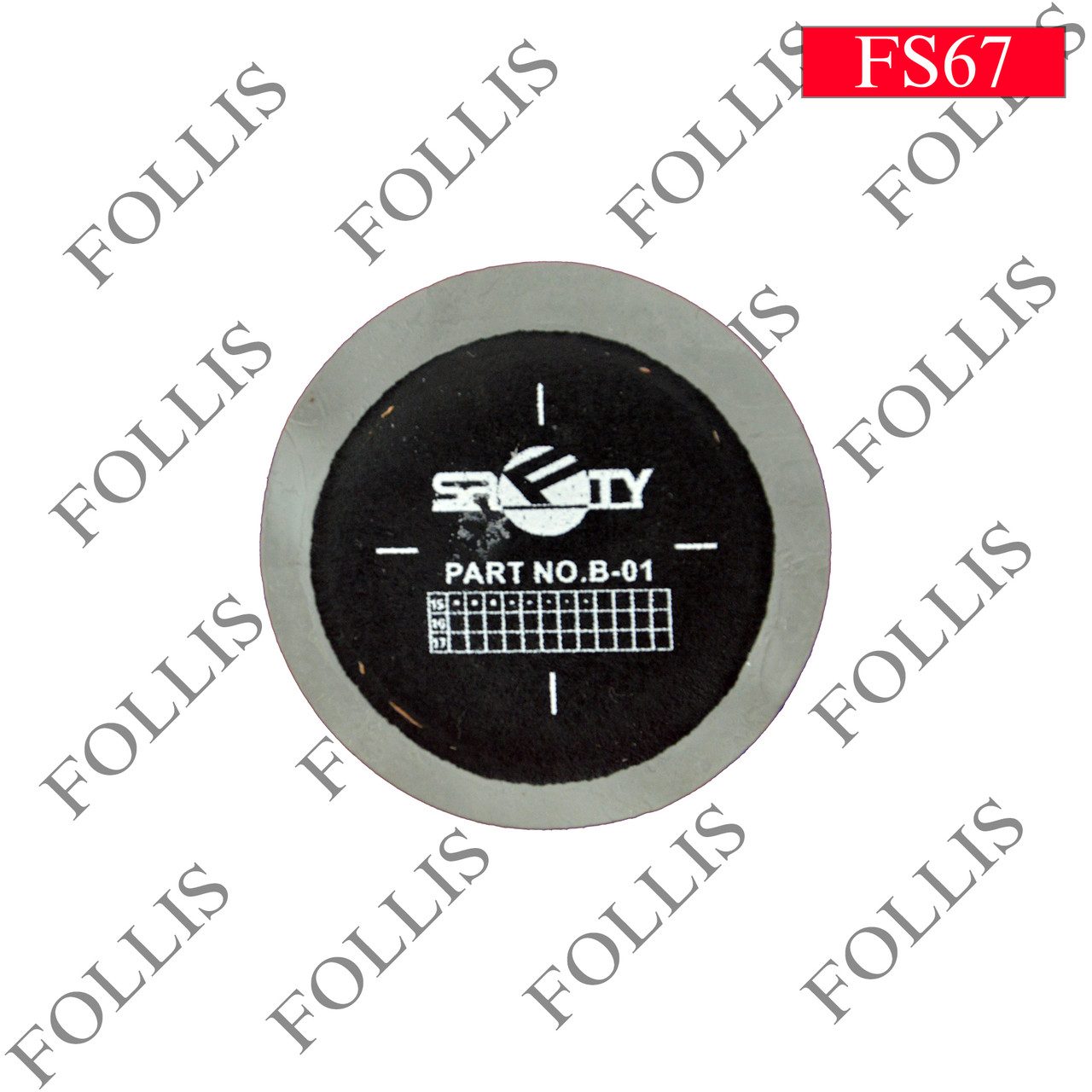 S-22 57mm (пачка)Round shape,grey and black mixed