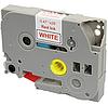 Лента TZe-232, OEM, красным на белом , для принтеров Brother PT-1010, PT-1280VP, PT-D200VP, PT-E100VP и пр.