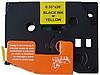 Лента TZe-621, OEM, черным на желтом , для принтеров Brother PT-1010, PT-1280VP, PT-D200VP, PT-E100VP и пр.