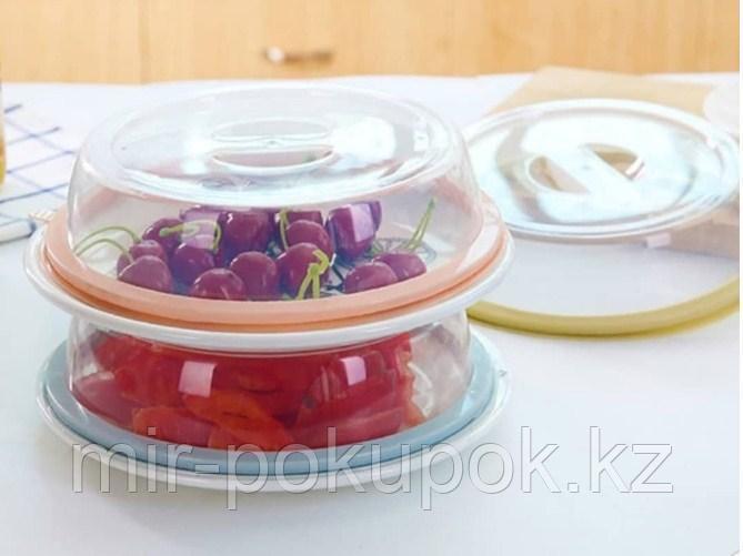 Крышка для накрывания блюд на присосках