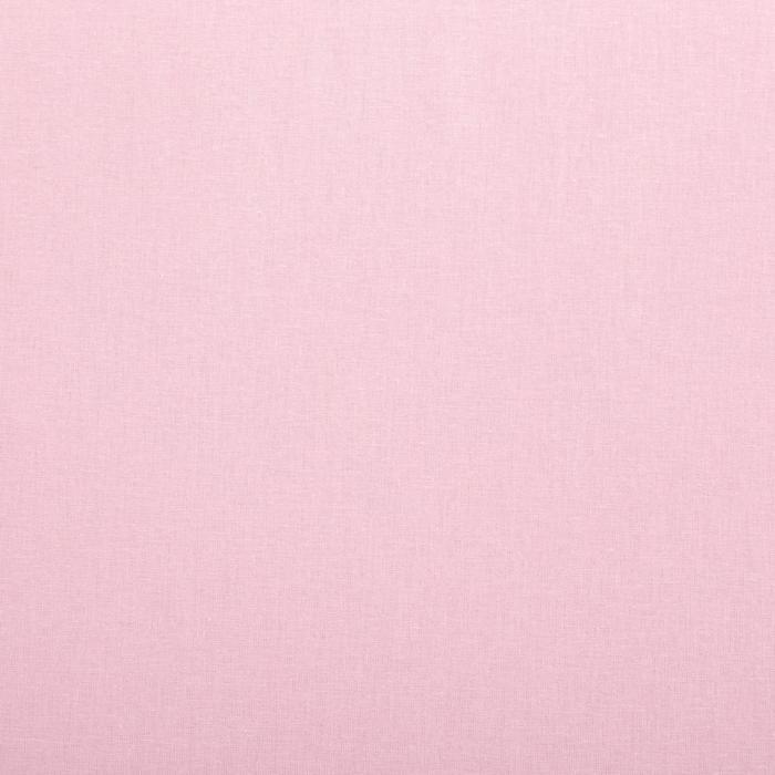 Простыня «Этель» 180х220 см, цвет розовый, ранфорс, 125 г/м²