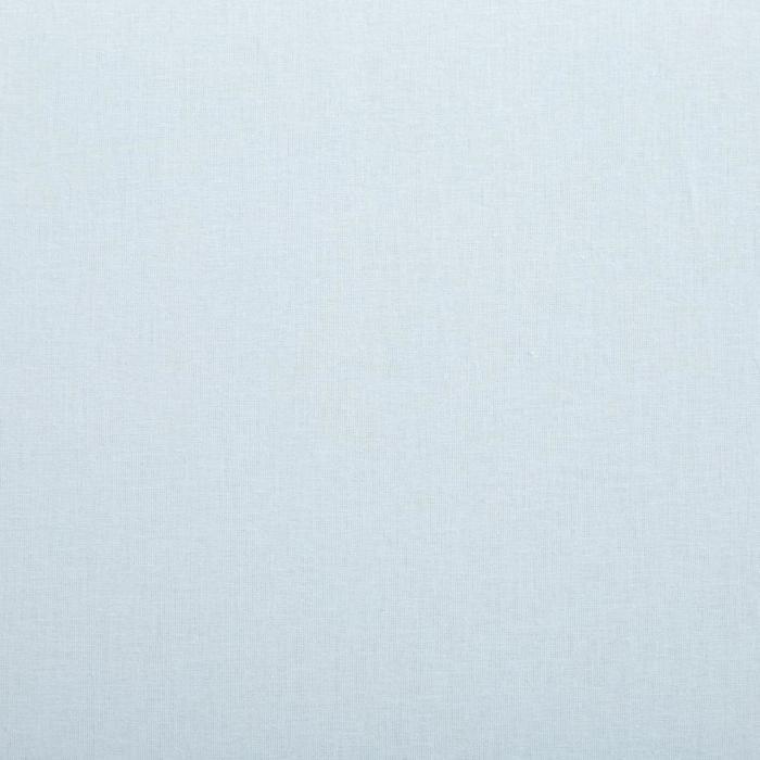 Простыня «Этель» 180х220 см, цвет голубой, ранфорс, 125 г/м²
