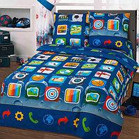 Детское постельное бельё 1,5 сп. «Матрица»
