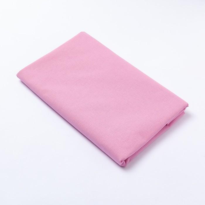 """Простыня """"Этель"""" 150х214 см, светло-розовый, хлопок 100%"""