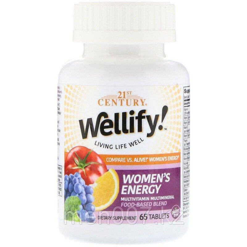 Мультивитамины для женщин Wellify! от 21 century  США (65 таблеток)