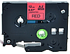 Лента TZe-431, OEM, черным на красном, для принтеров Brother PT-1010, PT-1280VP, PT-D200VP, PT-E100VP и пр.