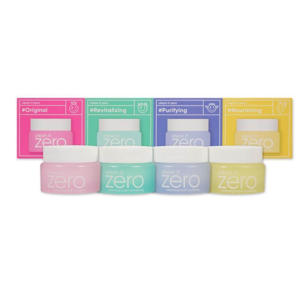 BANILA CO Набор миниатюр очищающих Бальзамов Clean it Zero Special Kit 4*7мл.