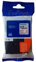 Лента TZe-231, OEM, черным на белом , для принтеров Brother PT-1010,  PT-1280VP, PT-D200VP, PT-E100VP и пр.