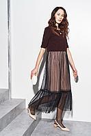 Женское осеннее нарядное платье BURVIN 7214-81 1 42р.