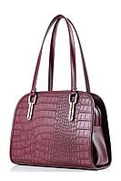 Женская осенняя кожаная красная сумка Galanteya 1415.9с2951к45 бордо без размерар.