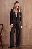 Женские осенние черные брюки Nova Line 4749 42р.