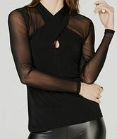 Inc International Concepts Женская блуза с перекрещенным воротником 2000000391878