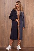 Женское осеннее драповое пальто Nova Line 10106 42р.